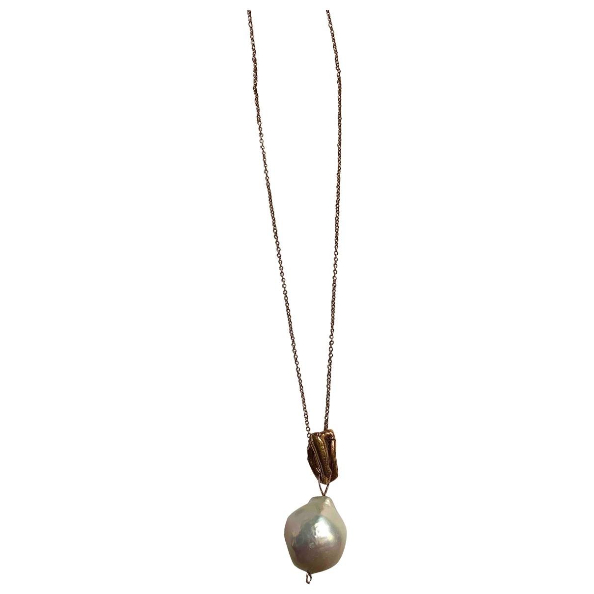 Alighieri - Collier   pour femme en plaque or - dore
