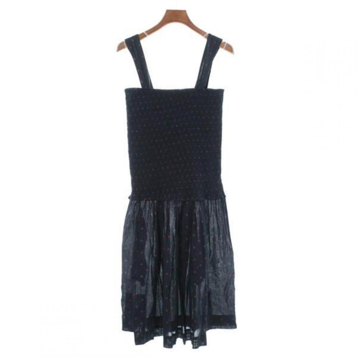 Isabel Marant \N Blue Cotton dress for Women 38 FR