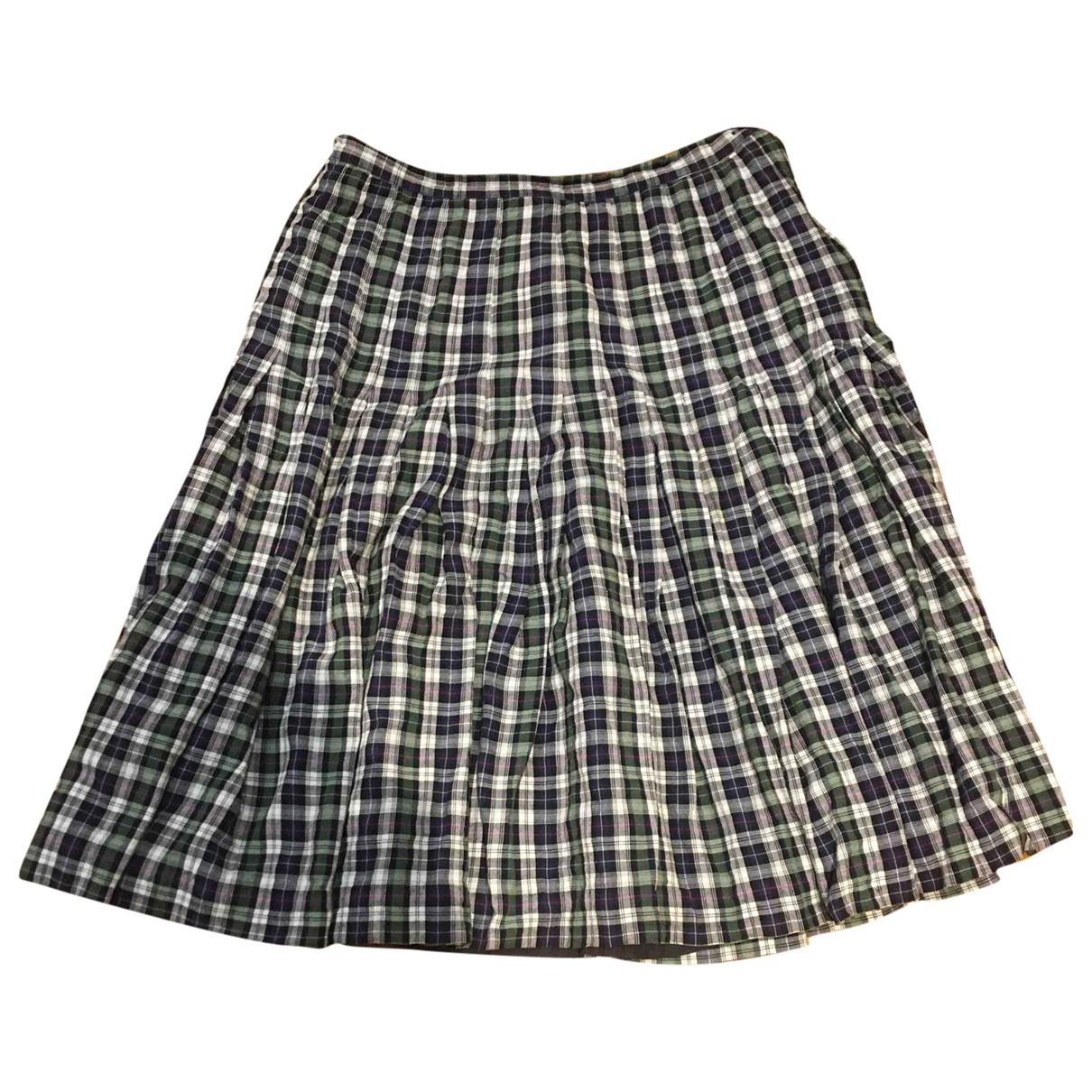Non Signé / Unsigned \N Multicolour Cotton skirt for Women 40 IT