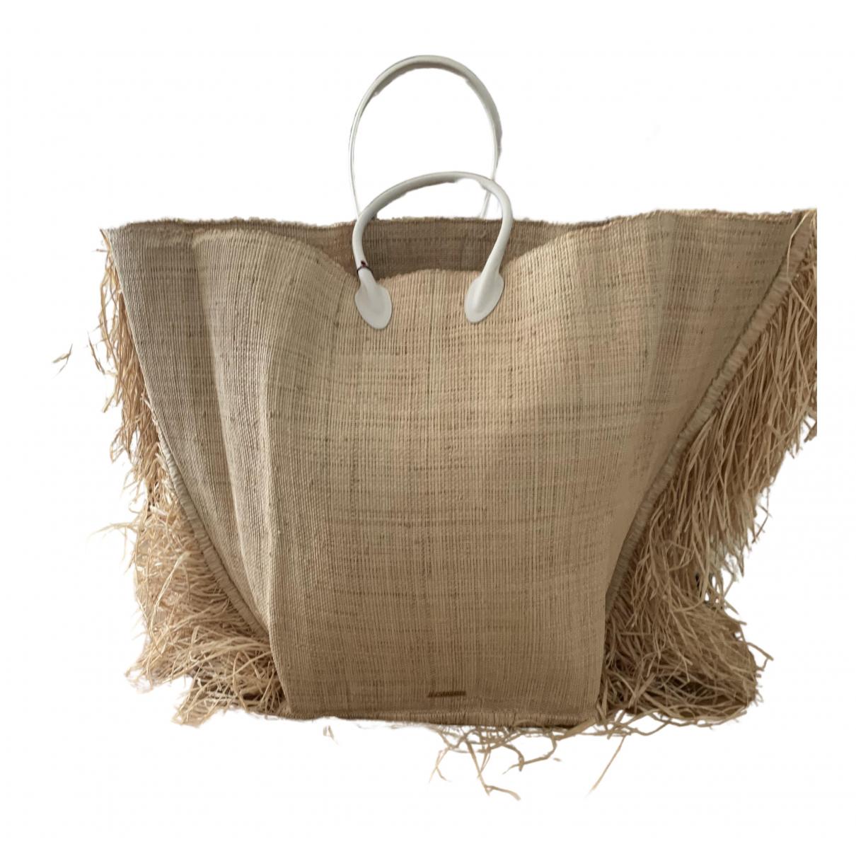 Jacquemus N Beige Wicker handbag for Women N