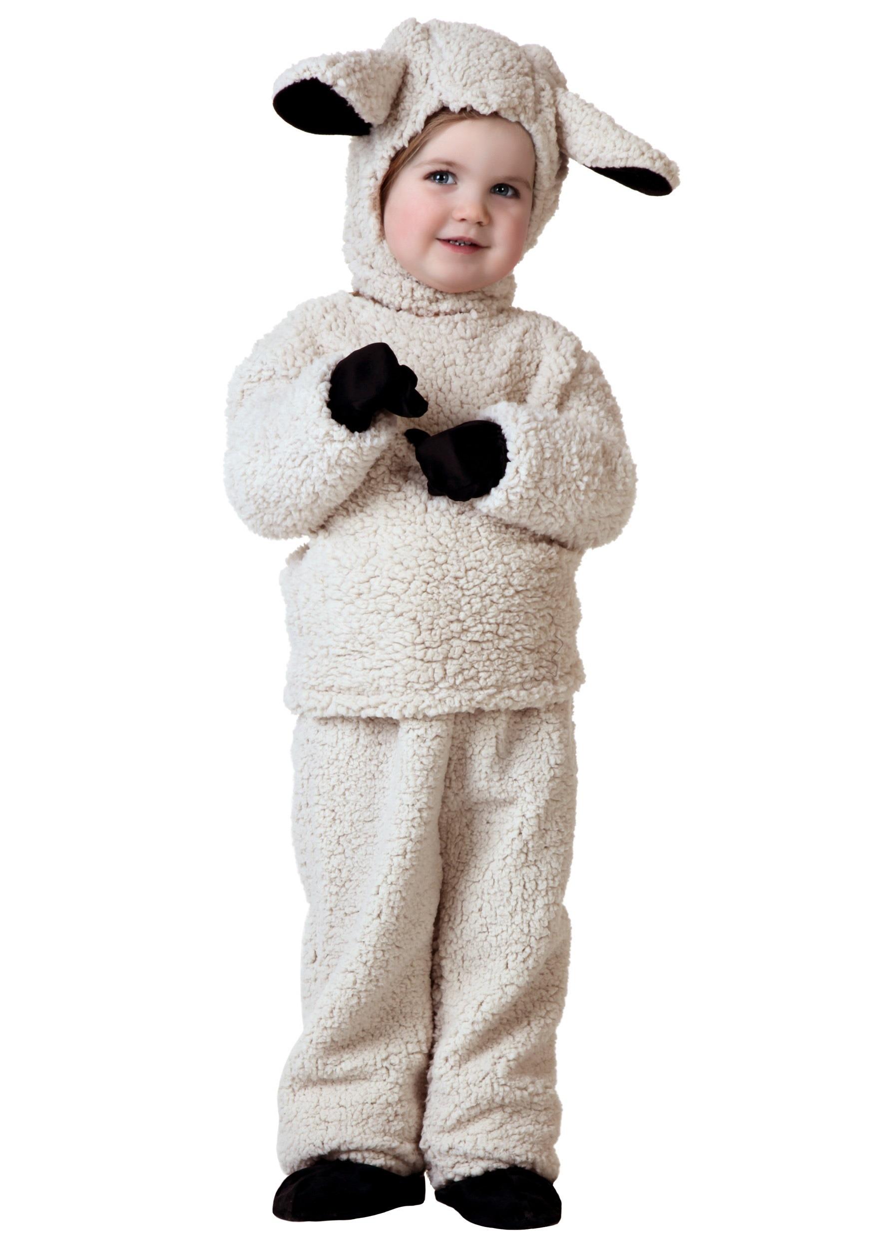 Toddler Sheep Costume