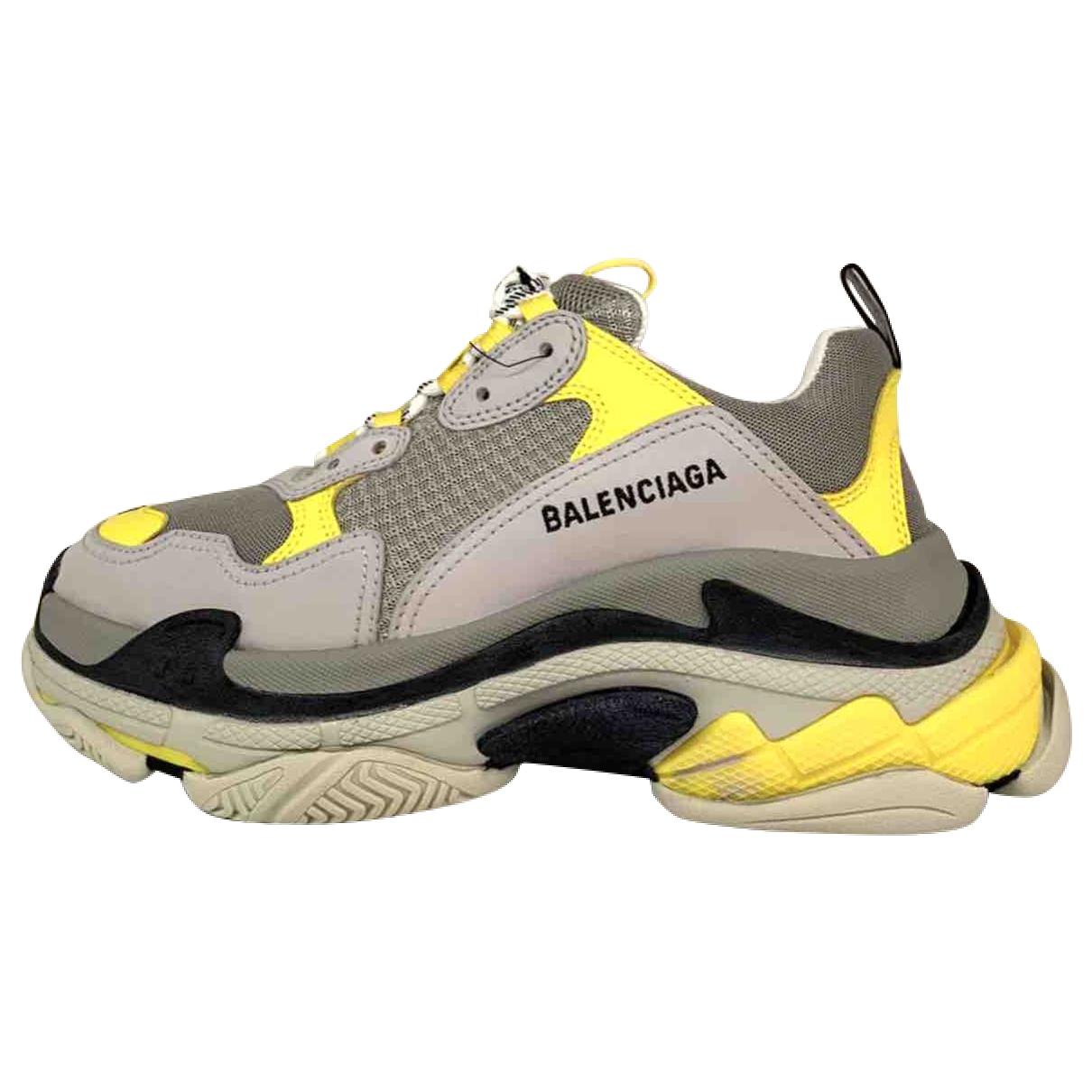 Balenciaga - Baskets Triple S pour homme - gris