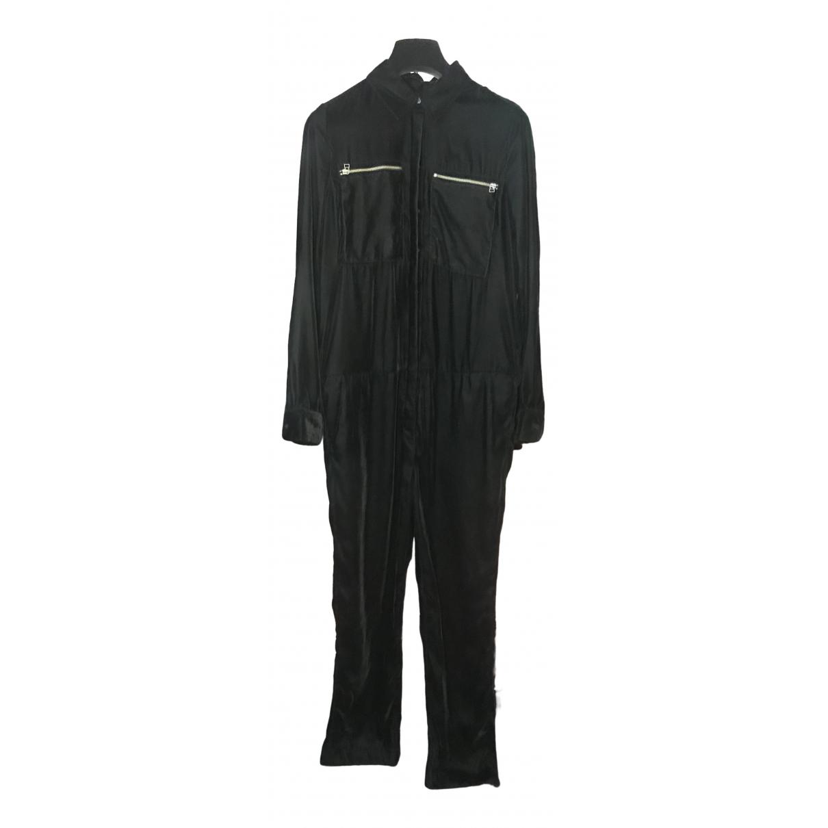 H&m Studio \N Black Velvet jumpsuit for Women XS International