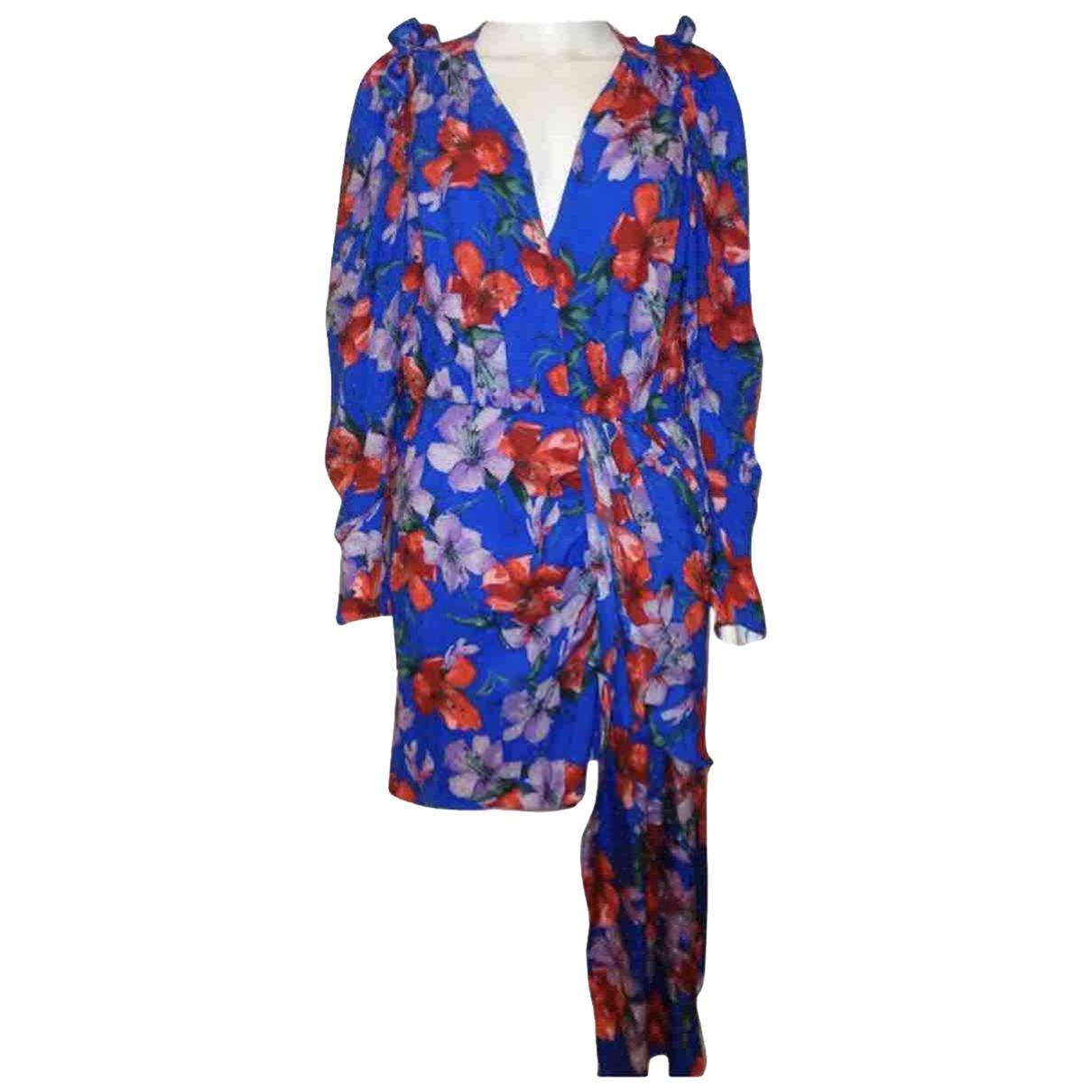 Magda Butrym \N Kleid in  Blau Seide