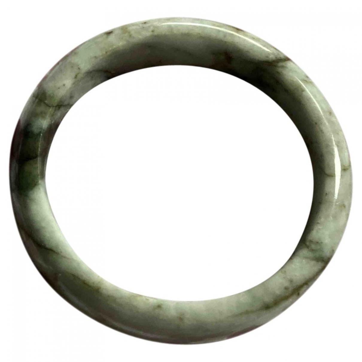 - Bracelet   pour femme en verre - vert