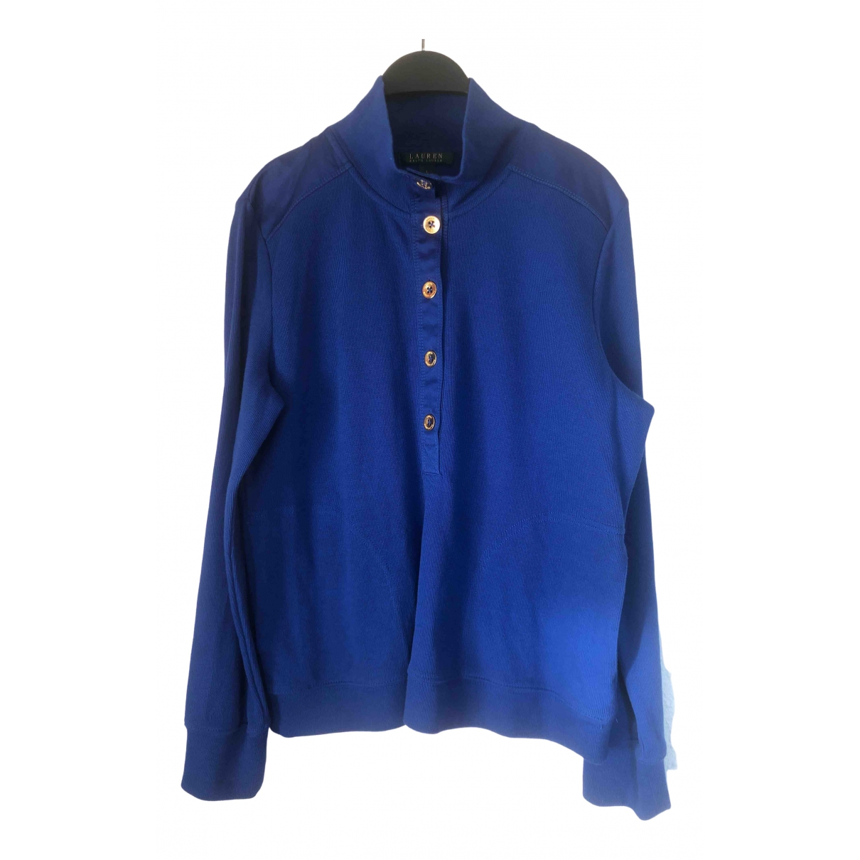 Lauren Ralph Lauren \N Blue Cotton Knitwear for Women L International