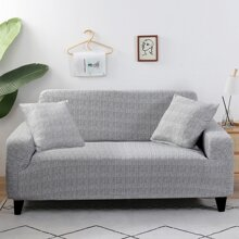 Einfarbiger drehbarer Sofabezug ohne Kissen