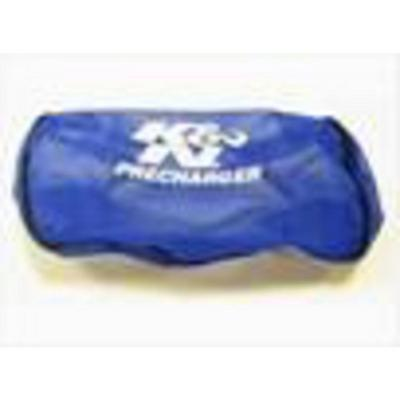K&N PreCharger Oval Straight Filter Wrap (Blue) - E-3321PL
