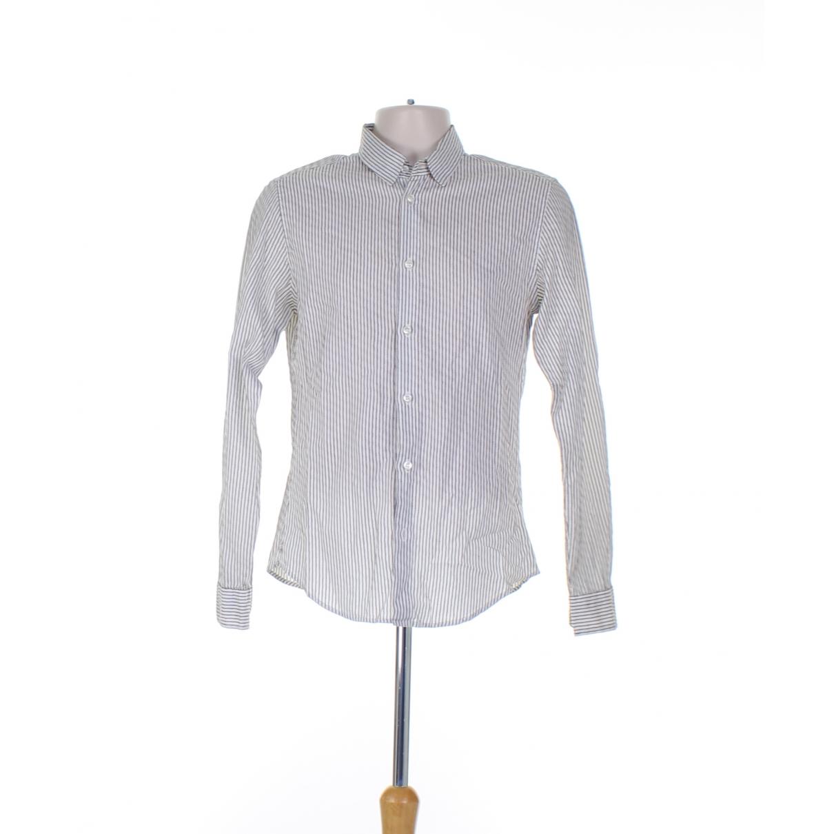 Bottega Veneta - Chemises   pour homme en coton - blanc