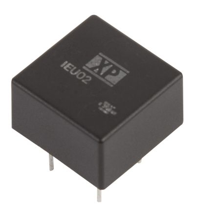 XP Power IEU02 2W Isolated DC-DC Converter Through Hole, Voltage in 4.5 → 10 V dc, Voltage out 12V dc