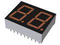 ROHM LBP-602DA2  2 Digit LED LED Display, CA Orange 250 mcd RH DP 14.3mm (2)