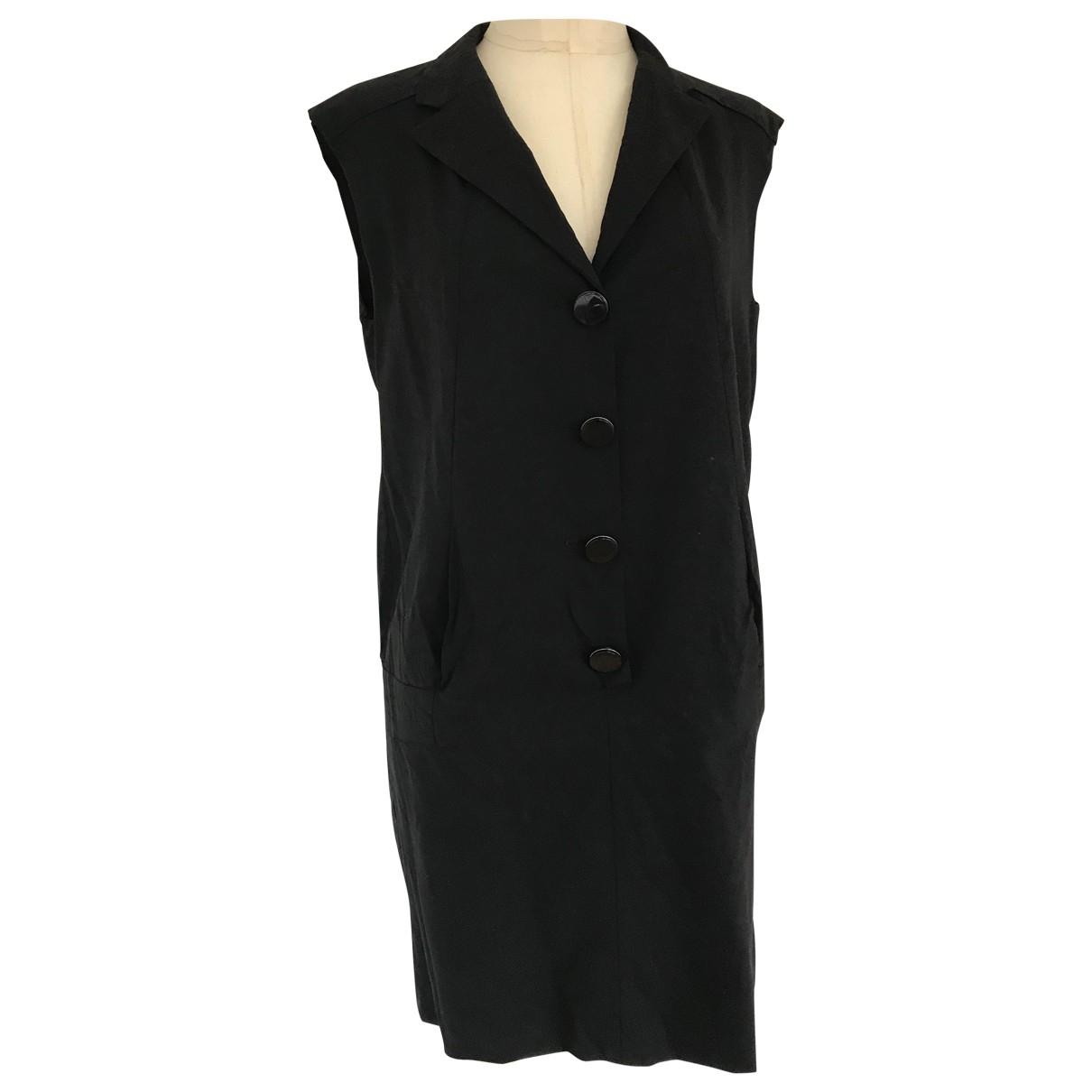 Maje \N Black Wool dress for Women S International