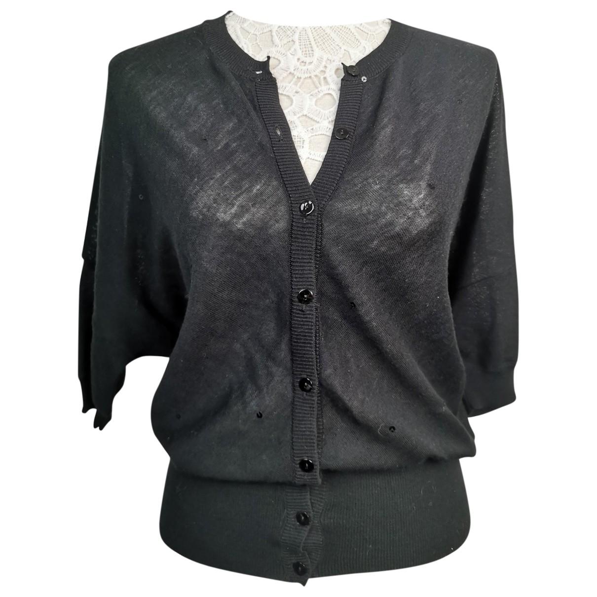 Balenciaga \N Pullover in  Schwarz Baumwolle