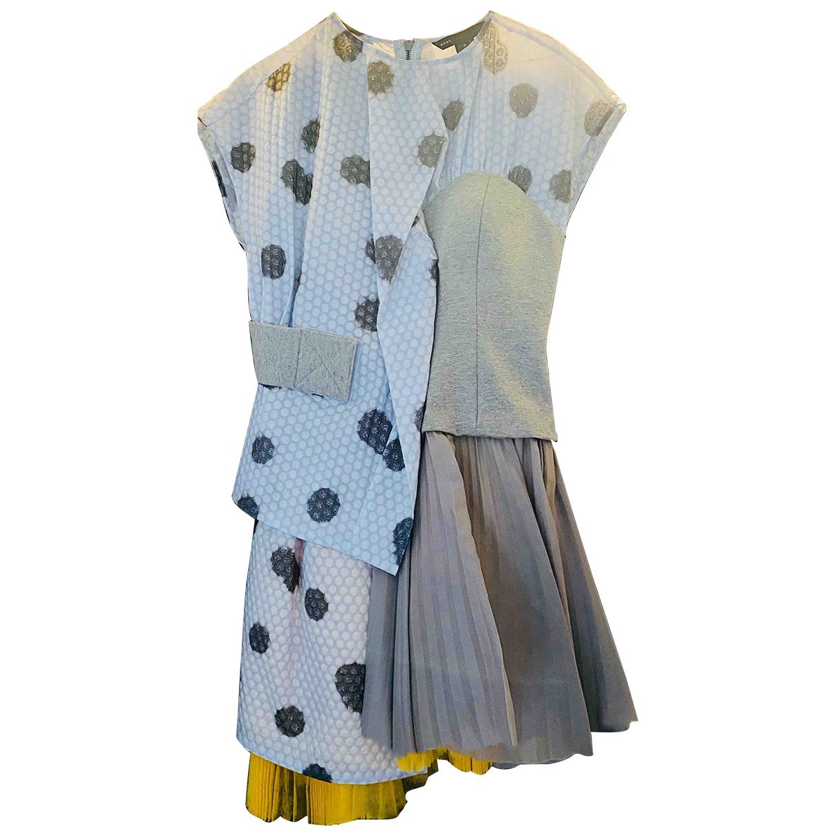 Marc By Marc Jacobs \N Kleid in  Grau Synthetik