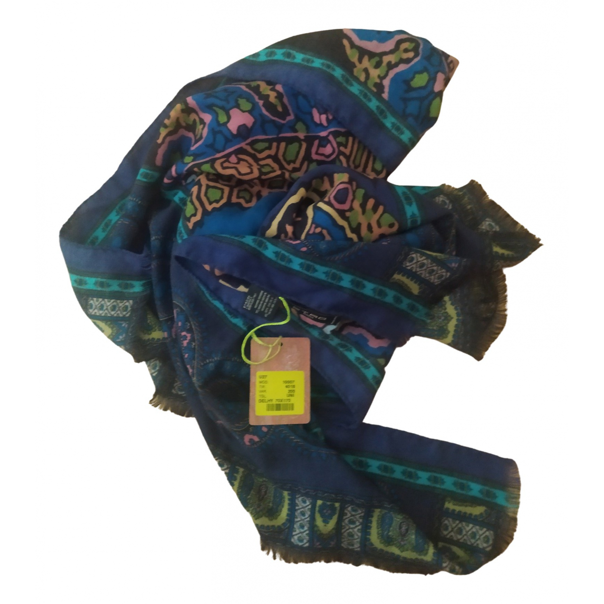 Etro \N Multicolour Cashmere scarf & pocket squares for Men \N
