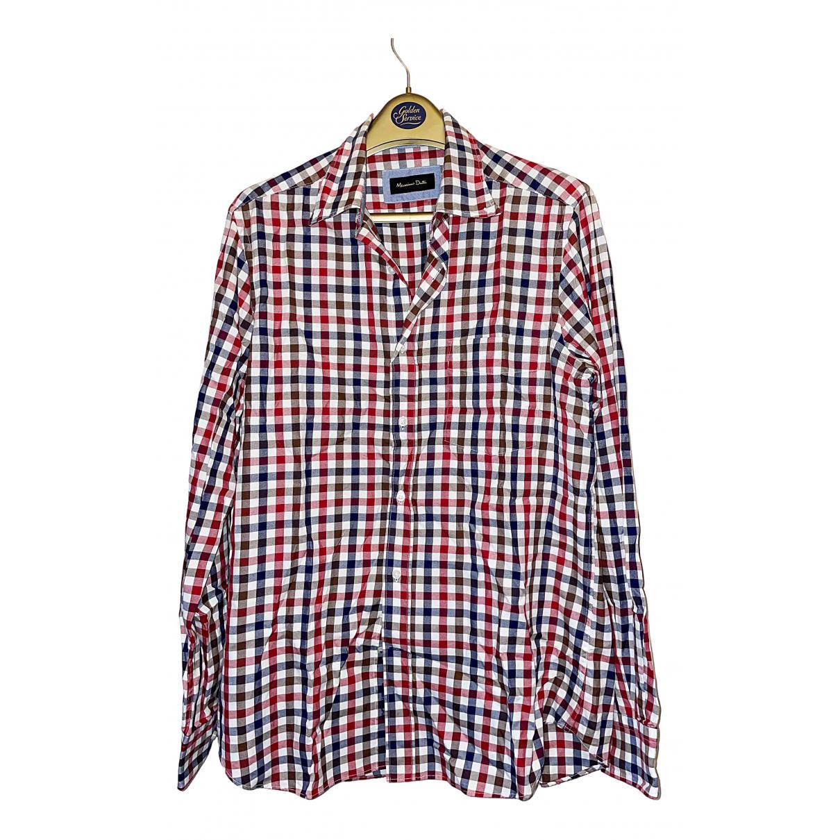 Massimo Dutti - Chemises   pour homme en coton