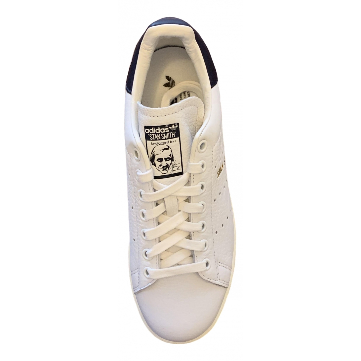 Adidas Stan Smith White Leather Trainers for Women 39.5 IT