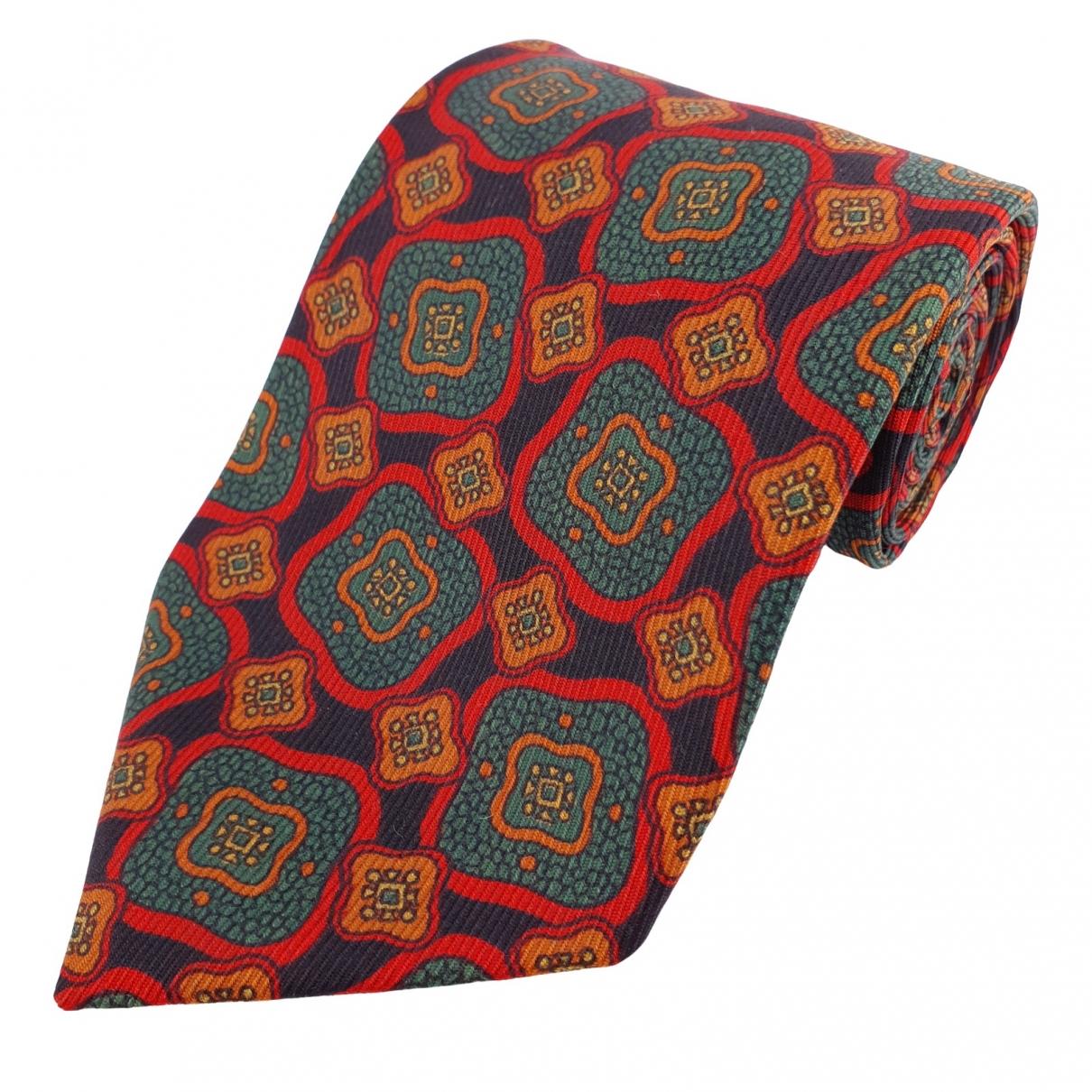 Burberry - Cravates   pour homme en soie - multicolore