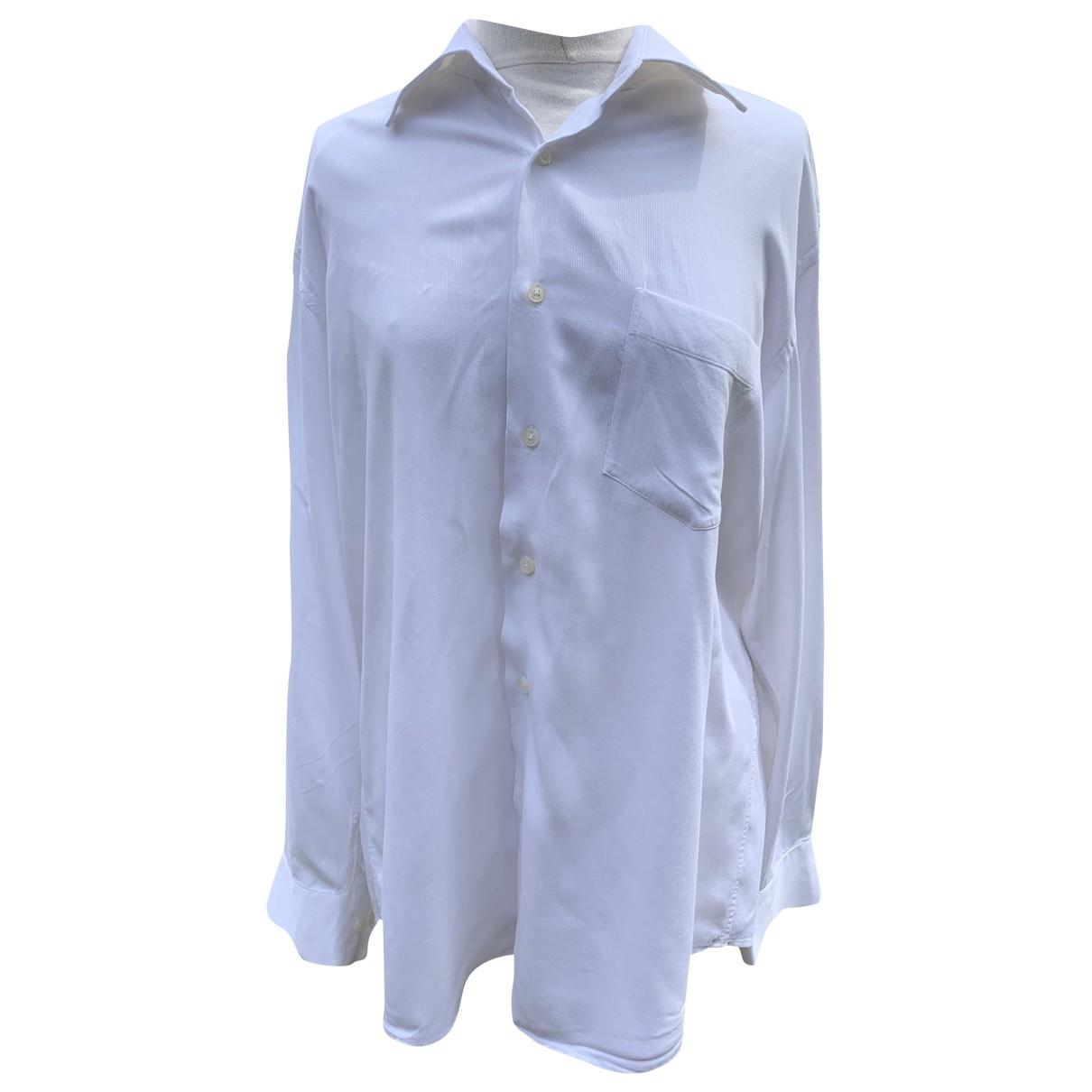 Guy Laroche \N Hemden in  Weiss Baumwolle