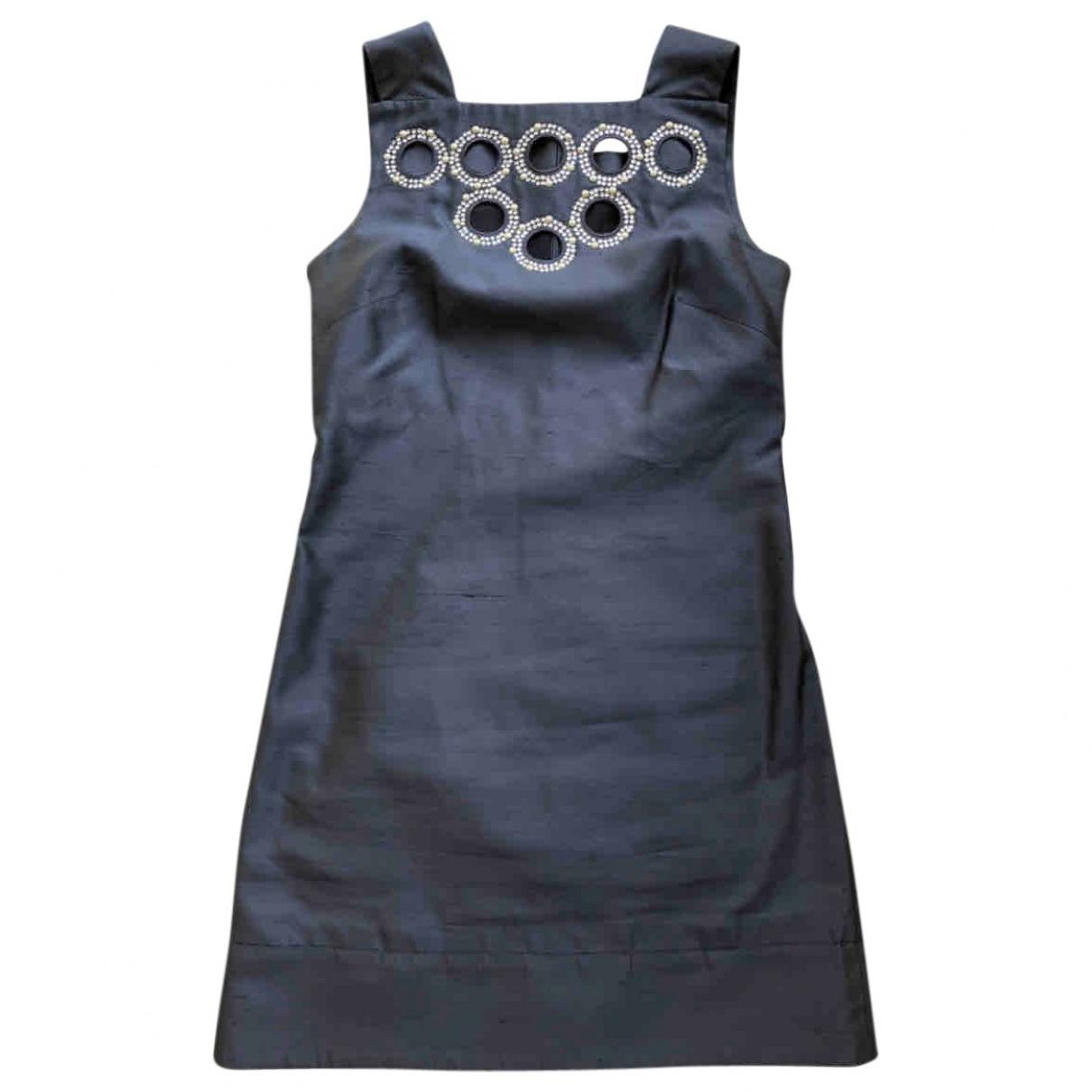 Blumarine \N Blue Silk dress for Women 38 IT