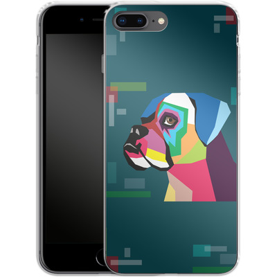 Apple iPhone 7 Plus Silikon Handyhuelle - Pop Dog von Mark Ashkenazi