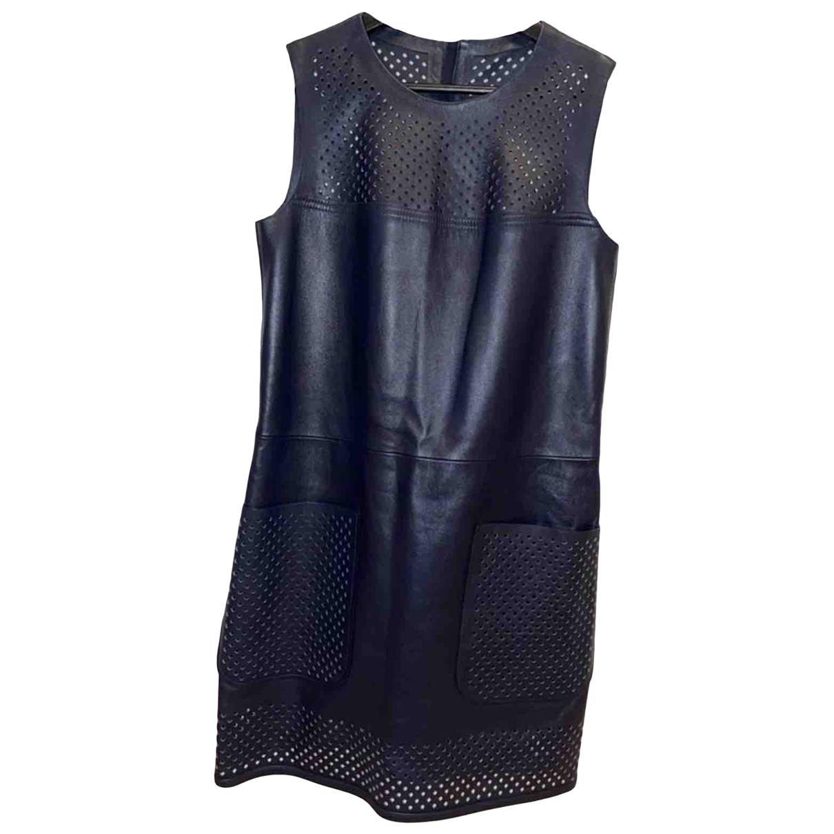 Mini vestido de Cuero Louis Vuitton