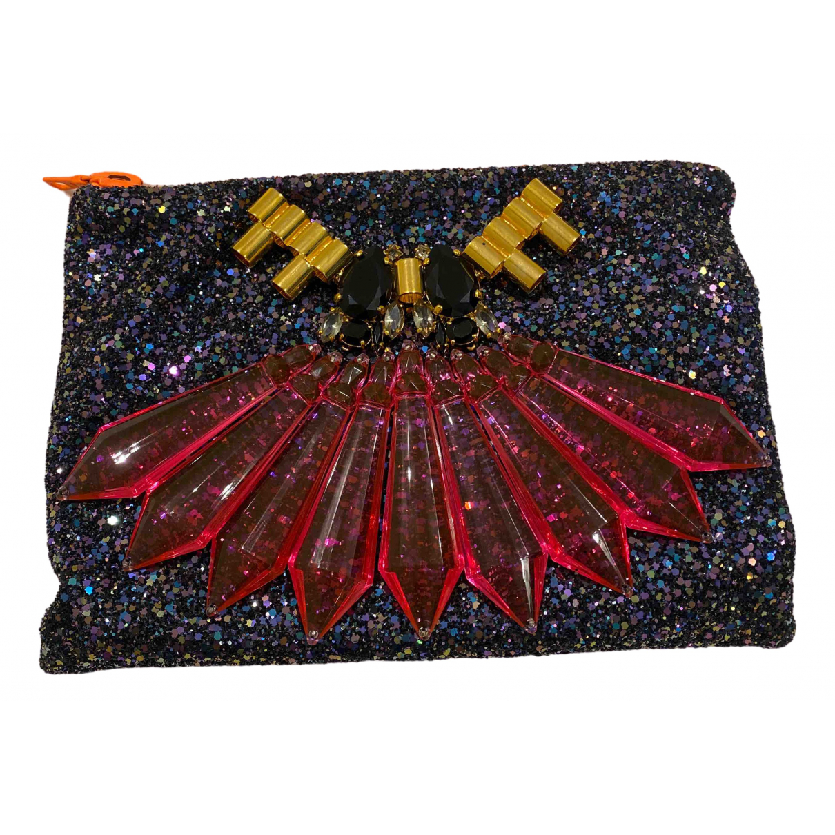 Mawi \N Clutch in  Bunt Mit Pailletten