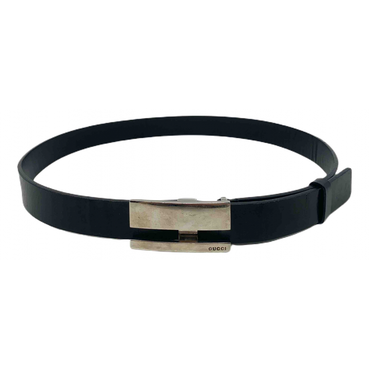 Gucci \N Black Leather belt for Women M International