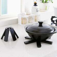 1pc Foldable Insulated Pot Rack