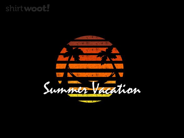 Vintage Summer Vacation T Shirt