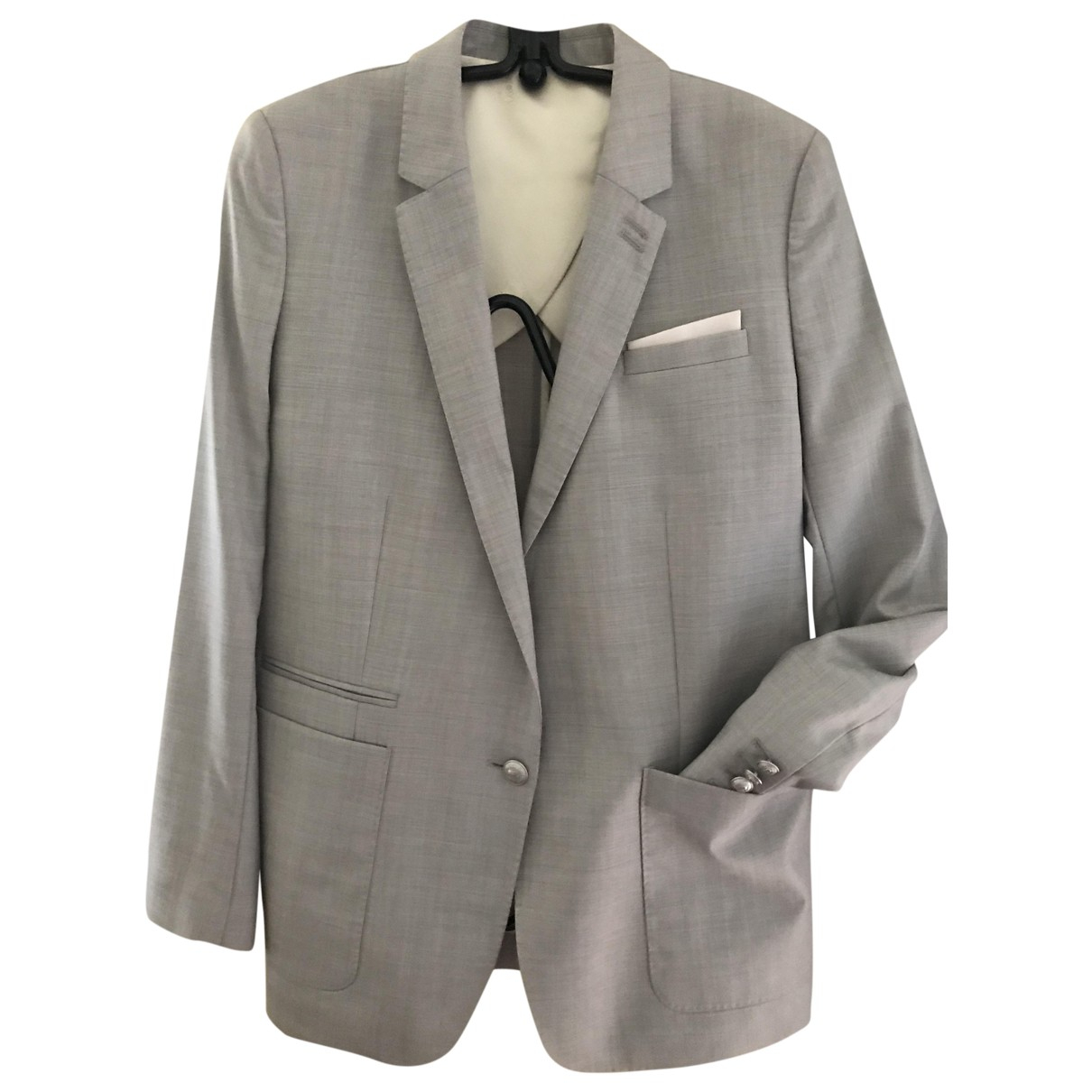 The Kooples \N Grey Wool jacket for Women 40 FR