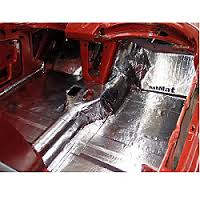 Hushmat 622781 Floor Pan Custom Insulation Kit Pontiac Tempest 1961-1963
