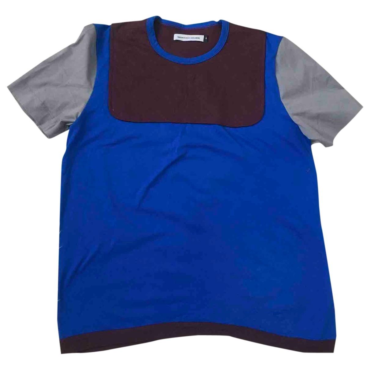 Alexandre Herchcovitch - Tee shirts   pour homme en coton - bleu