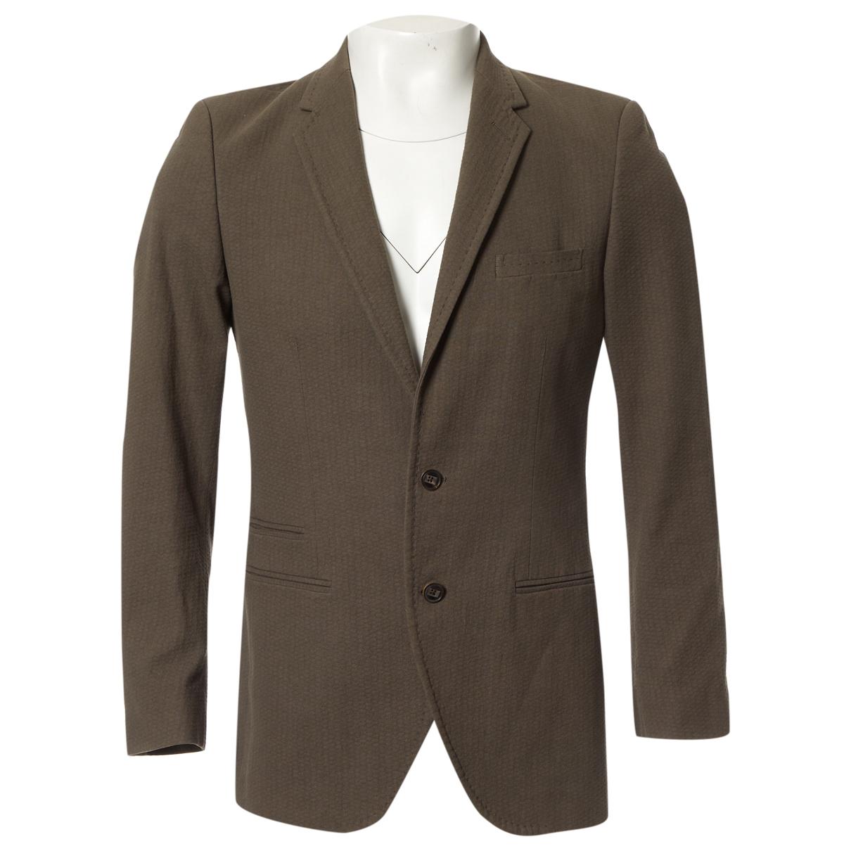 Louis Vuitton - Vestes.Blousons   pour homme en coton - marron