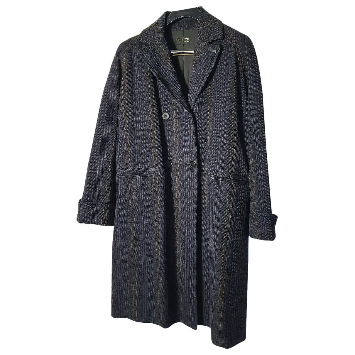 Callaghan - Manteau   pour femme en laine - anthracite