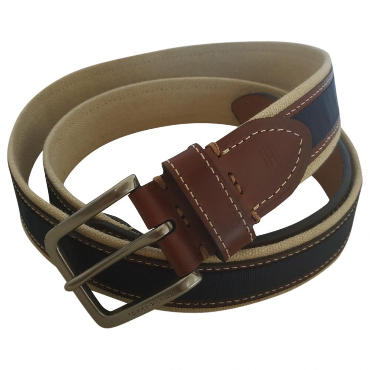 Tommy Hilfiger \N Blue Cloth belt for Men 100 cm