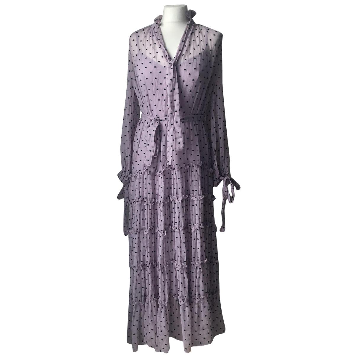 Zimmermann \N Kleid in  Lila Seide