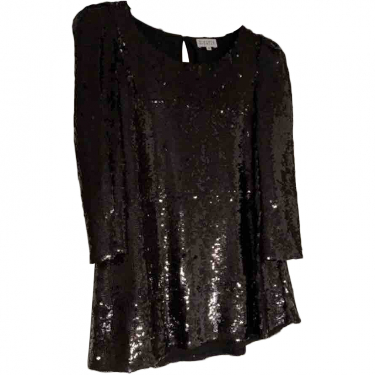 Claudie Pierlot \N Black Glitter  top for Women 36 FR