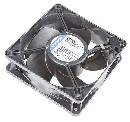 ebm-papst , 230 V ac, AC Axial Fan, 119 x 119 x 38mm, 160m³/h, 3.3W