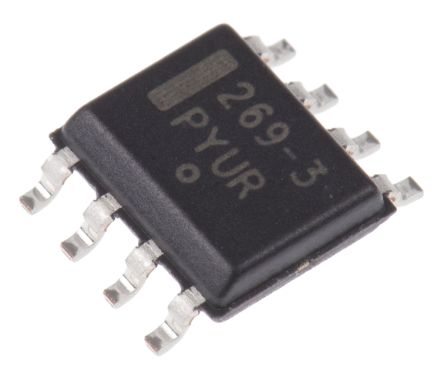 ON Semiconductor MC33269D-3.3G, Low Dropout Voltage Regulator, 800mA, 3.3 V, ±1% 8-Pin, SOIC
