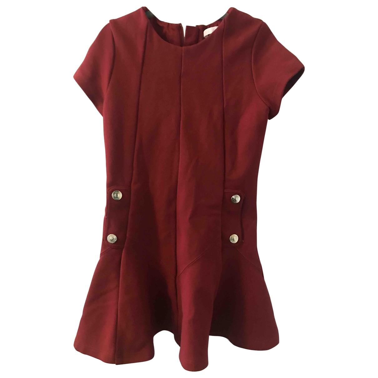 Chloe - Robe    pour enfant en coton - rouge