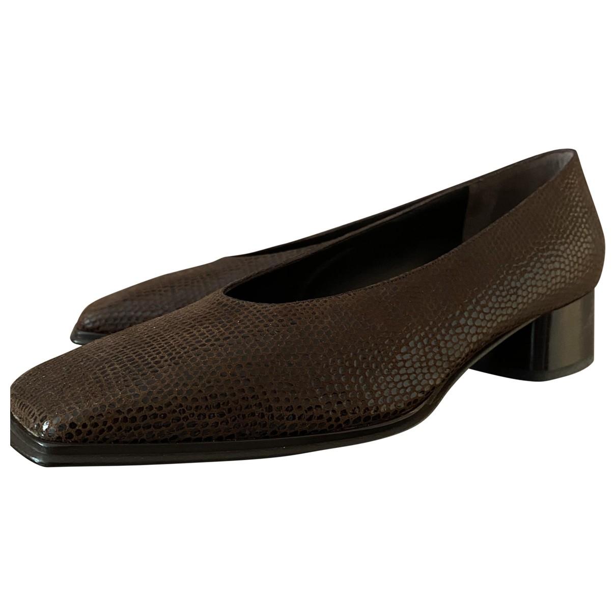 Rodo - Escarpins   pour femme en cuir - marron