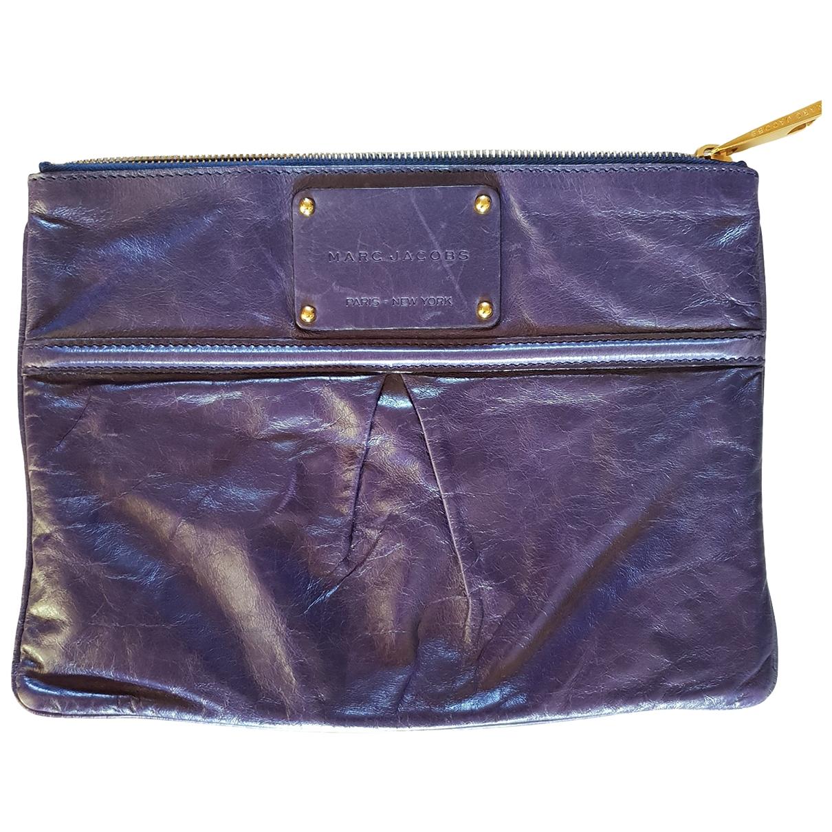 Marc Jacobs - Petite maroquinerie   pour femme en cuir - violet