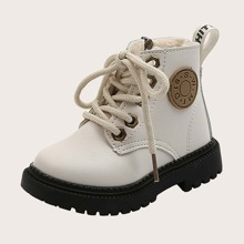Toddler Girls Lace-up Front Boots