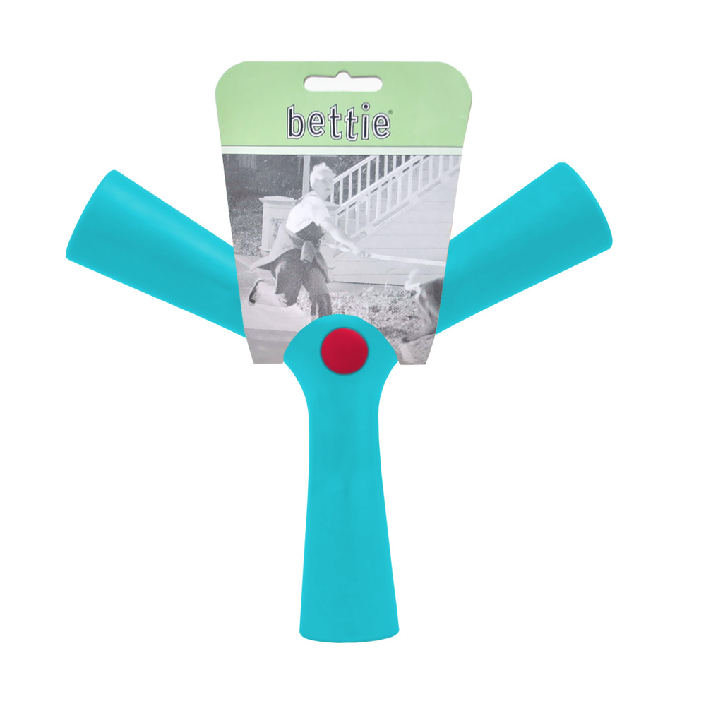 Bettie Fetch Toy Tail Waggin Teal Blue - (Small)
