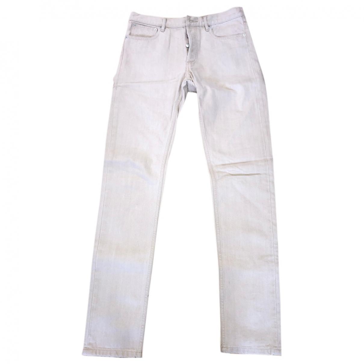 Apc \N Beige Cotton Jeans for Men 28 US