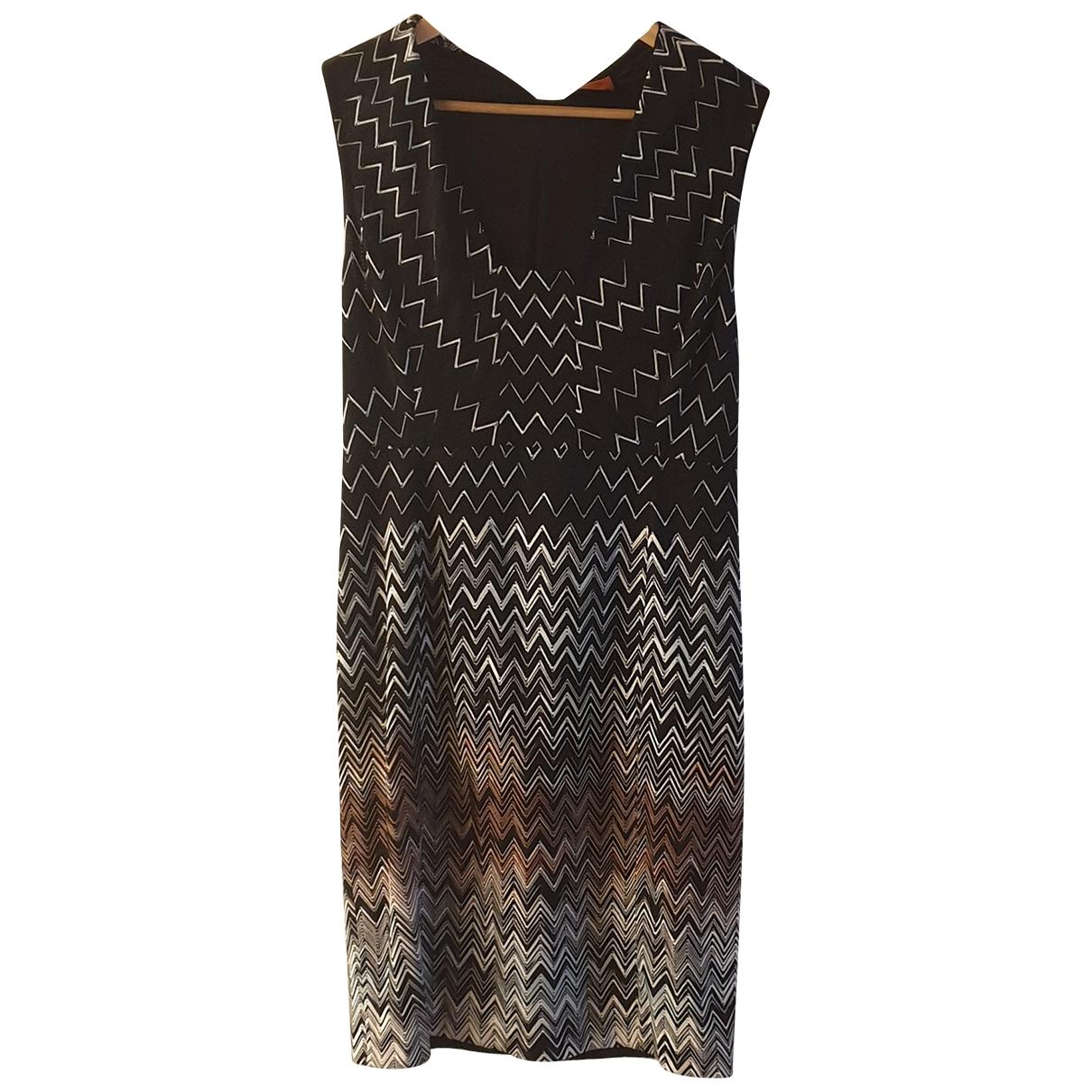 Missoni \N Multicolour Cotton - elasthane dress for Women 44 IT