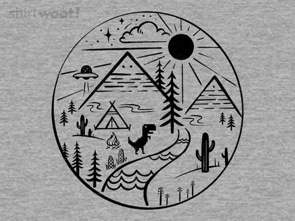 Offline Exploring T Shirt