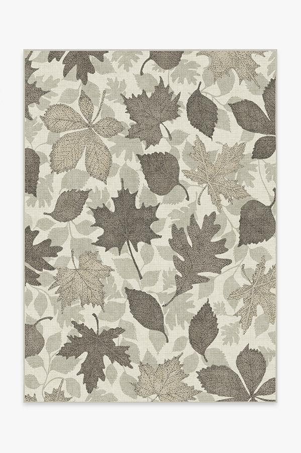 Washable Rug Cover | Jora Warm Grey Rug | Stain-Resistant | Ruggable | 5'x7'