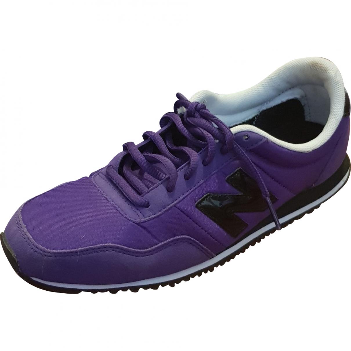 New Balance \N Purple Cloth Trainers for Women 38.5 EU